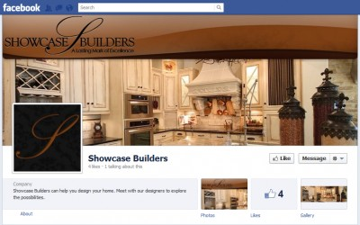 Showcase Home Builders Facebook Page