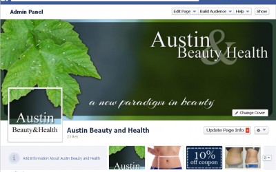 Austin Beauty & Health Facebook page