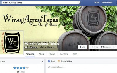 Wines Across Texas Facebook Page