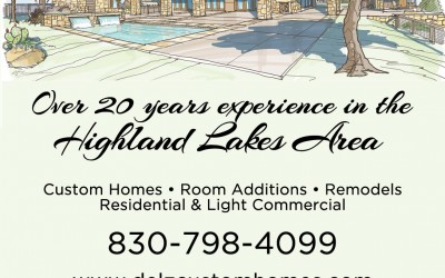 Delz Custom Homes Ad