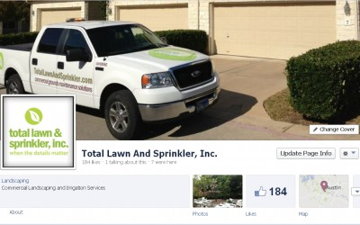 Total Lawn & Sprinkler Facebook Page